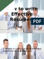 Resume Guideresume Fep