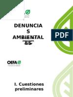 OEFA - Denuncias ambientales