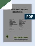 Especies Medicinales Colombianas 2014