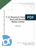 virtual research handbook nolting