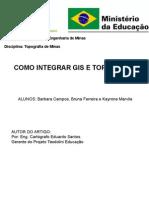 Integração de Topografia com GIS