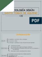 Axiologia de Tomas de Aquino