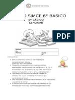 Ensayo SIMCE 6º Básico Lenguaje