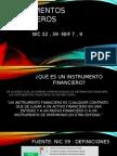 Intrumentos Financieros - Diapositivas Fundamentales