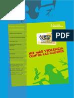 No Violencia contra las mujeres PDF