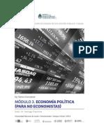 Módulo 3 Economía Política Para No Economistas