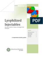 Lyophilized Injectables Report Prospectus