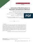 Manifestaciones Gastrointestinales de Enfermedades Autoinmunes