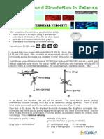 3- Terminal Velocity