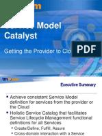 TMF Service Model Catalyst
