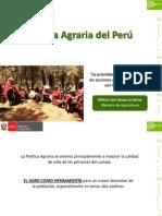 Política Agraria 2012-2016