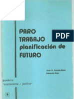 CJ 08, Paro, Trabajo, Planificación de Futuro - JN García-Nieto & E Rojo