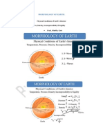 Morphology of Earth