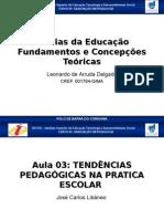 Teorias da Educação Fundamentos e Concepções Teóricas