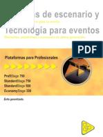 APQ STAGE | CATALOGO PLATAFORMAS