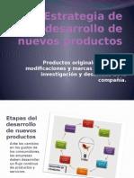 Estrategia de Desarrollo de Nuevos Productos