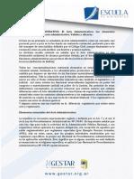 Derecho Administrativo y Constitucional