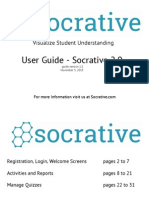 Socrat Ive User Guide