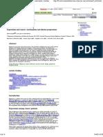 Depression and Cancer_mechanisms and Disease Progression_D Spiegel_biblio