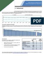 Revenue Statistics and Consumption Tax Trends 2014 Switzerland(1)