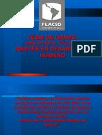 Tesis Maestría en Desarrollo Humano FLACSO - ARGENTINA