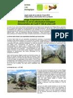 Entretien Du Sol en Arboriculture Biologique