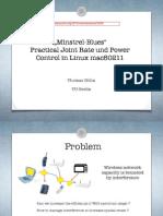 Minstrel-Blues @LinuxPlumbers 2014