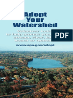 adopt your watershed - brochure (ways to solve problem)