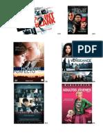 Listado Películas