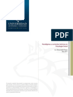 ParadigmasCorrientesTeoricasPsicologaSocial Libre