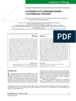A Review of Current Concepts in Evidence-based Radiology