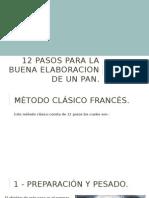12 Pasos Para La Elaboración De Un Pan