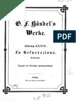 Handel - La Resurrezione (Oratorio)