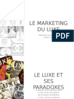 Le marketing du luxe