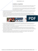 General Description International Biathlon Union - IBU