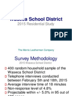 2015 waseca sd powerpoint - facilities results