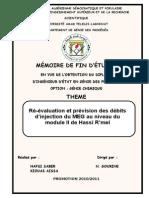 Mémoire Ingénieurs Génie Des Procédés 2011