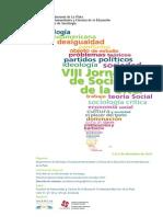 VIII Jornadas Sociologia UNLP - Programa (1)