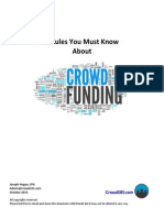7 Rules You Must Know About Crowdfunding