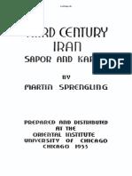 3rd Century Iran