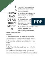 Personalidad Dasel Medico