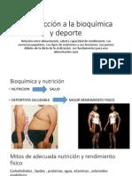 1 Introducción a La Bioquímica y Deporte