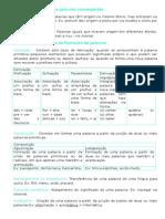 Resumo para Exame de Português 9º ano