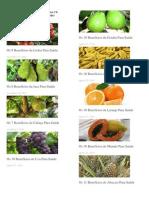 Beneficios das Frutas