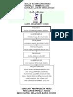 Carta Organisasi 2015