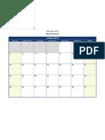 Calendario 2015 Excel