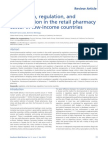 Retail Pharmacy in Low Income Country s16382e