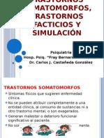 Trastornos Somatomorfos, Trastornos Facticios y SimulacioÌ-n