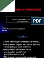 CHOP1 Kom K4 (Keterampilan Observasi)