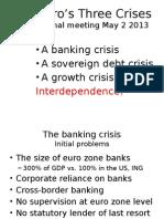 The Euros Three Crises